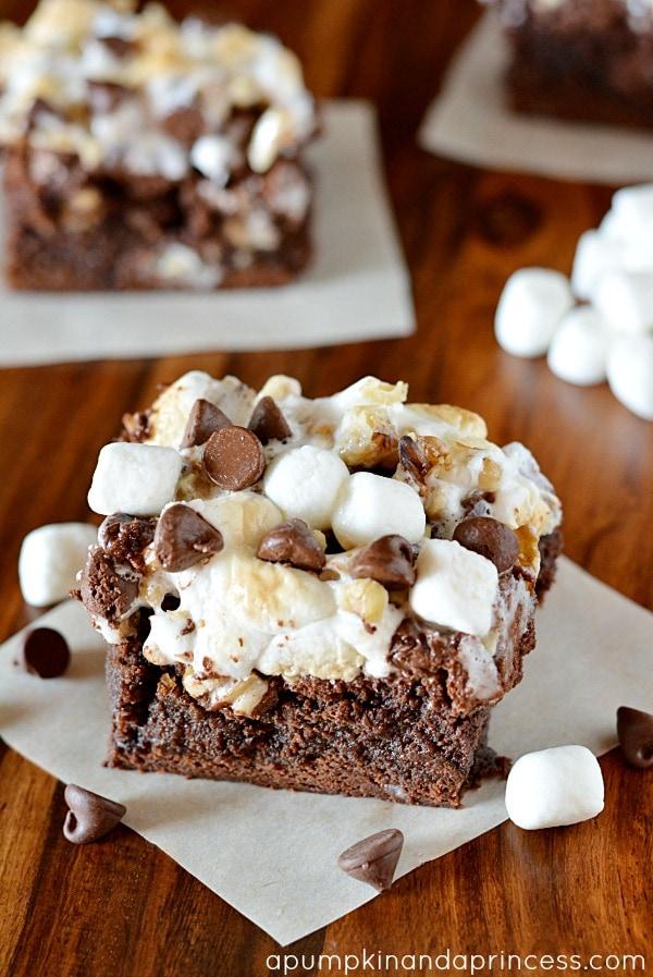 Rocky Road Brownie Recipe