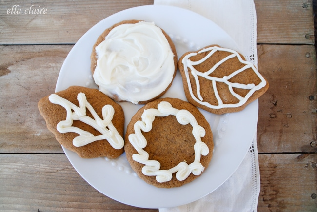Spiced Pumpkin Gingerbread Cookies recipe