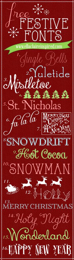 1 - Free Christmas Font