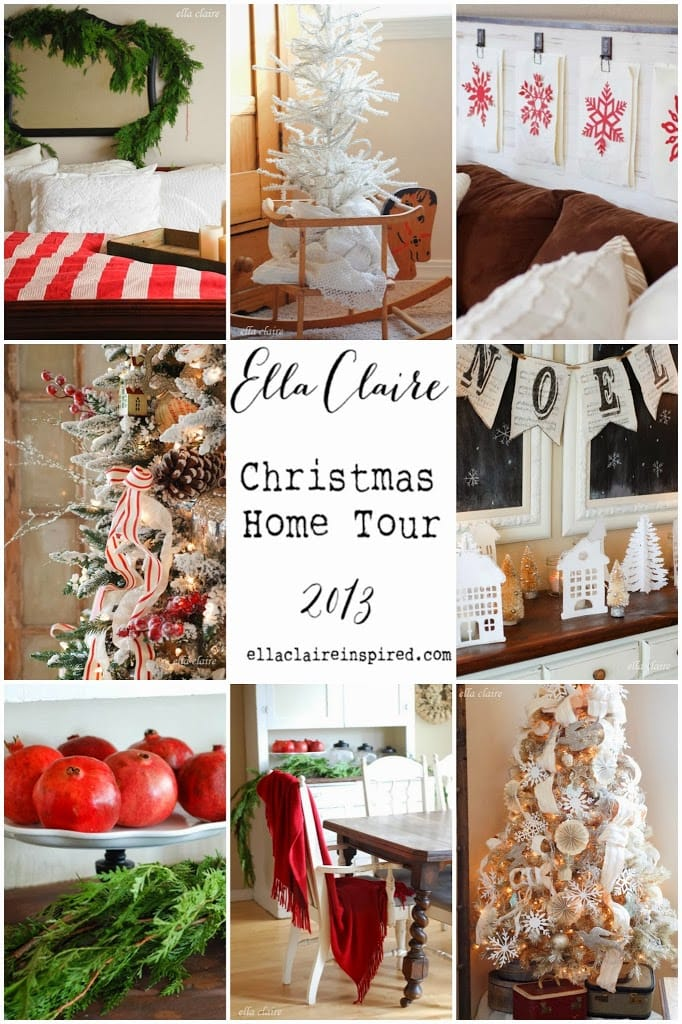 my christmas home tour 2013 ella claire