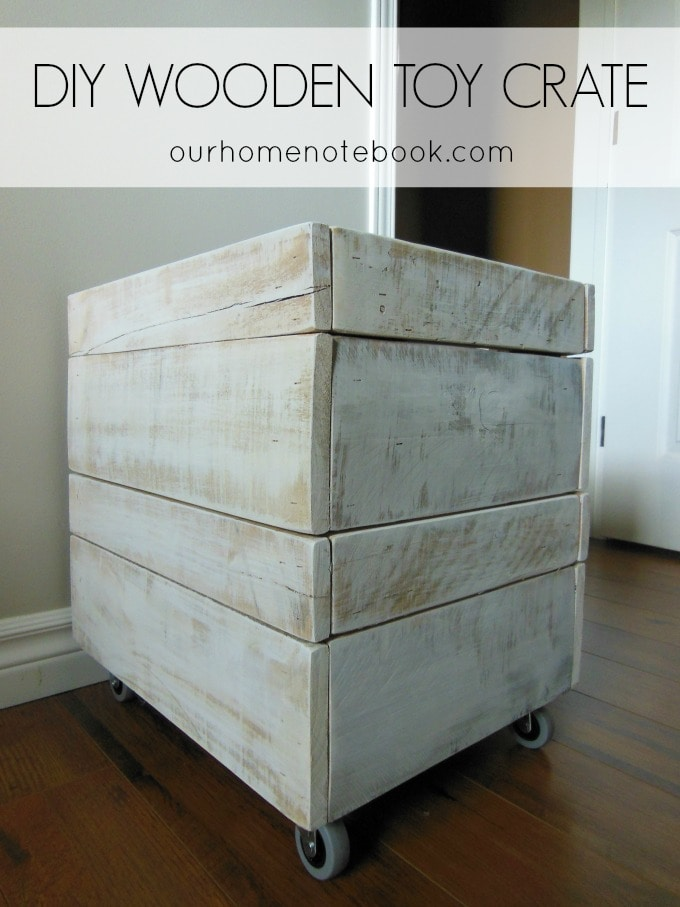 DIY Wooden Toy Crate